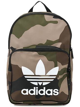 91d4ccddb0c2 adidas Trefoil camouflage backpack - Green
