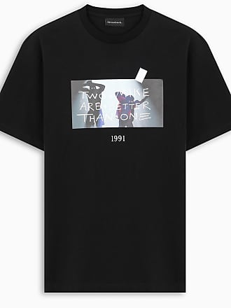 Throwback. T-shirt TWO MIKE nera