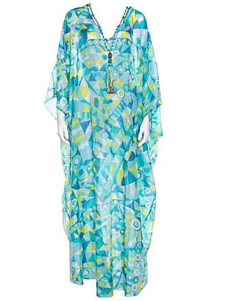 515e5574785 Emilio Pucci Multicolor Printed Cotton Silk Kaftan ( Free Size )
