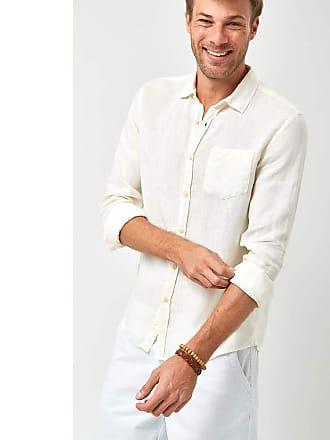 Zapalla Camisa Linho 100% - Branco - Tamanho GG