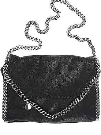 8ccec5036f Stella McCartney Borsa a Tracolla da Donna On Sale, Nero, Pelle Eco, 2017