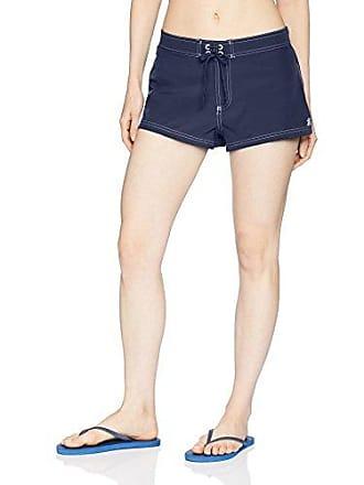 9e93bb687c ZeroXposur Womens Stretch Woven Short Bottom with Brief, Midnight, 16