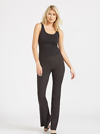 Alloy Apparel Tall Elana Pants for Women Black Size XXL/37 - Polyester