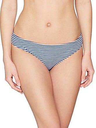 fd97a8174c Lovable Goffrato Jaquard Stripes Bas de Maillot de Bain, Multicolore (Righe  Blu E Bianco