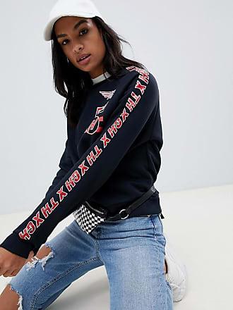 22cda30e3eda Tommy Hilfiger X Gigi Hadid Team printed sweatshirt
