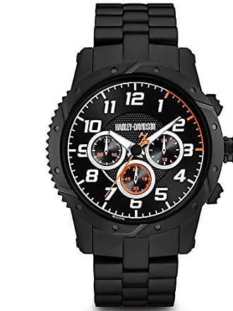 Bulova Relógio Masculino Bulova Harley Davidson WH30564P - Preto