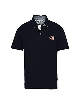 873ddcd62586ca Napapijri Herren Jersey Eloth Polo-Shirt Blau M