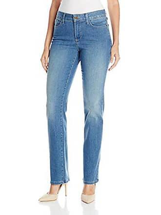 NYDJ Womens Marilyn Straight Leg Denim Jean, Upper Falls, 0