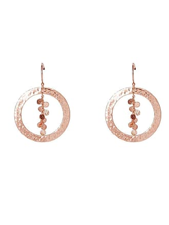 Murkani Rose Gold Grace Hoop Earrings