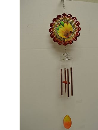 Great World Company Lady Bug Wind Chime with Spinner, Womens - 800706