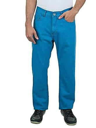 Colombo Calça Jeans Masculina Azul Lisa 29802 Colombo