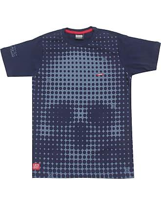 Gangster Camiseta Gangster Menino Frontal Azul-Marinho