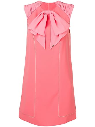 Elisabetta Franchi ruffle detail dress - Pink