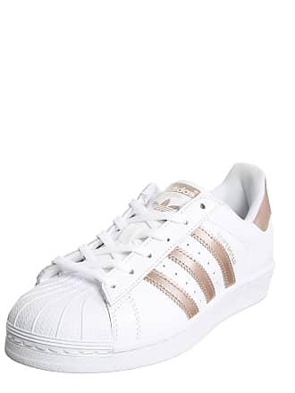 adidas Sneaker Superstar gold / weiß