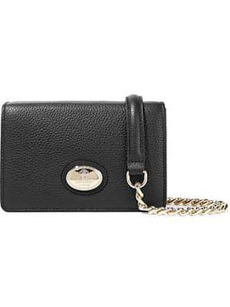 4cffb71ea7b94 Roberto Cavalli Roberto Cavalli Woman Pebbled-leather Shoulder Bag Black  Size