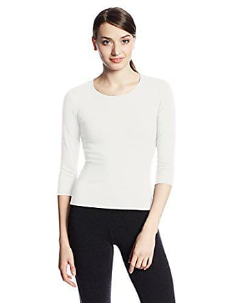 Only Hearts Womens 3/4 Sleeve Delicious Crew-Neck T-Shirt - Small - Cream