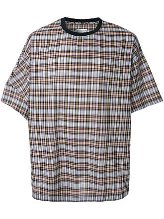 Wooyoungmi Camisa oversized xadrez - Estampado