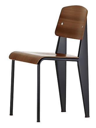 Vitra Standard Chair Black & Walnut