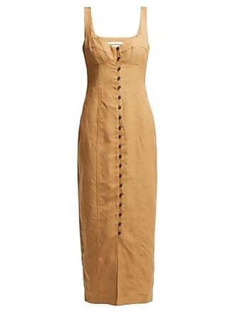 Mara Hoffman Angelica Long Line Dress - Womens - Beige