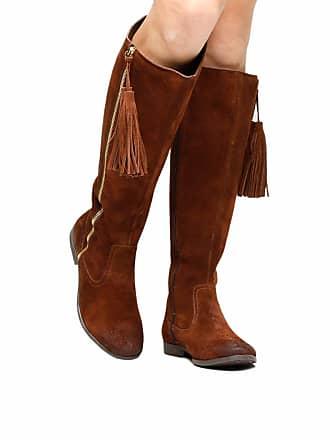 2bebfae695 Shoestock Bota Couro Over the Knee Shoestock Barbicacho Feminino - Feminino