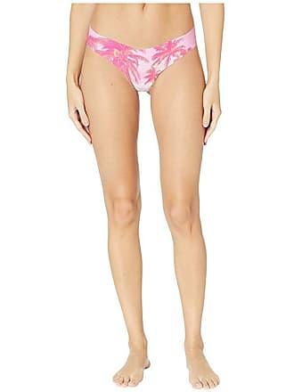 5fb3f3c2e259a2 Commando Print Thong CT18 (Pink Palms) Womens Underwear