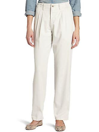 Lee Lee Womens Relaxed Fit Side Elastic Pleated Pant, String, 16 Medium