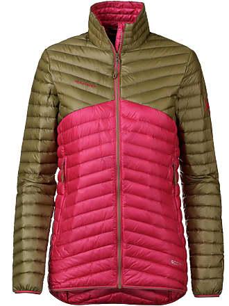 Damen Spyder Daunen Jacke Übergangsjacke Print Schrift Schwarz Pink Gr Kleidung & Accessoires Damenmode M