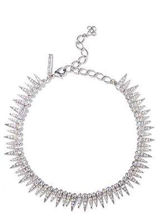 Oscar De La Renta Oscar De La Renta Woman Gold-tone Crystal Necklace Silver Size