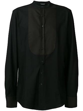 Neil Barrett bib shirt - Preto
