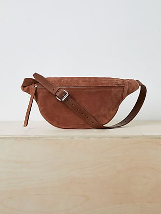 French Connection Large Gard Suede Belt Bag