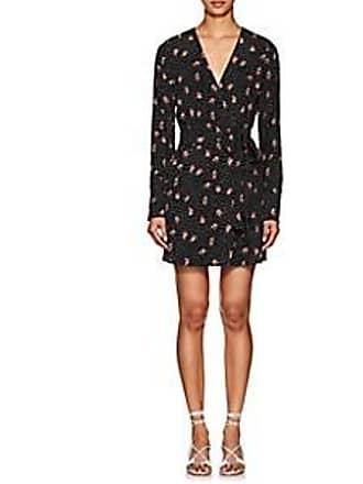 FiveSeventyFive Womens Tulip-Print Twill Dress Size XS