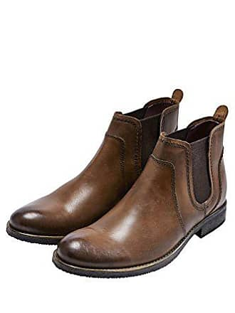 13d145a4844244 Next Herren Stiefel Leder Chelsea Boots Elastische Einsätze Braun UK 12 EU  47