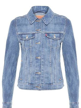 Levi's Jaqueta Jeans Reta Levis Womens - Azul