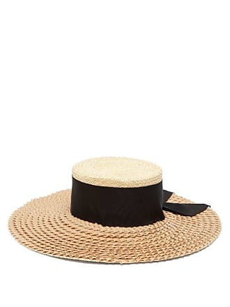 Benoit Missolin Henrietta Wide Brim Straw Hat - Womens - Beige