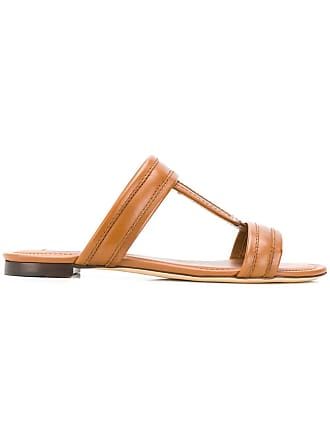 Tod's double T sandals - Brown