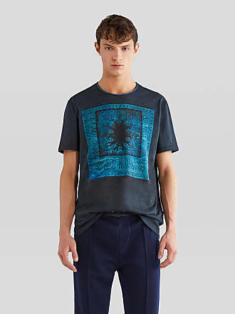 Etro Cotton T-shirt With Inlay, Man, Size XXL