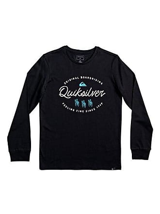 bd96bc534f62f Quiksilver Wave Slaves - T-shirt manches longues pour Garçon 8-16 ans -
