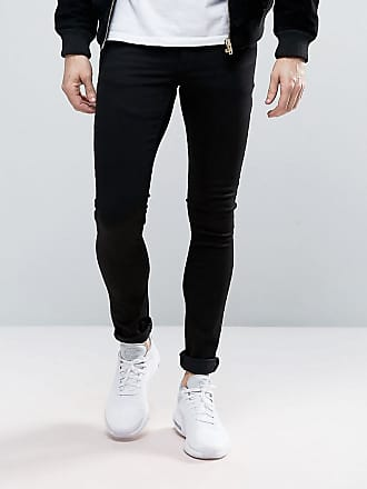 Asos extreme super skinny jeans in black - Black