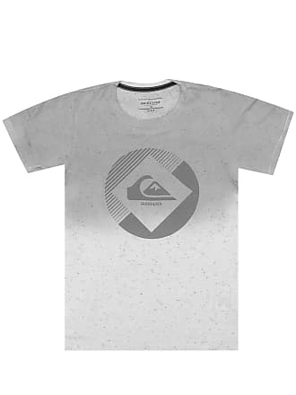 Quiksilver Camiseta Quiksilver Manga Curta Menino Cinza 6fac756221