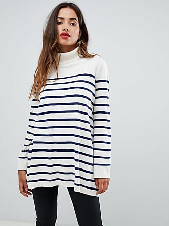 G-Star high neck knit in stripe - Multi