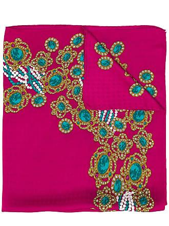 Chanel bijoux printed scarf - Pink