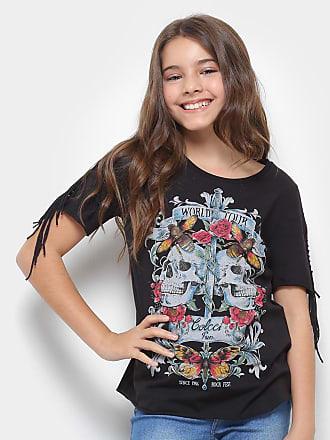 3a9512759 Colcci Fun Camiseta Infantil Colcci Estampada Feminina - Feminino