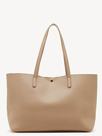 Sole Society Womens Zeda Tote Vegan Nude Vegan Leather From Sole Society