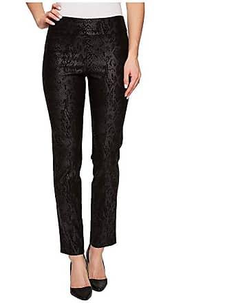 8ed5904515d Krazy Larry Pull-On Ankle Pants (Black Python) Womens Dress Pants