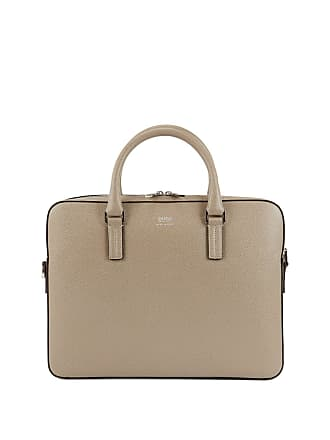 14b07b06a281 BOSS Hugo Boss Signature Collection document case in printed palmellato  leather One Size Beige