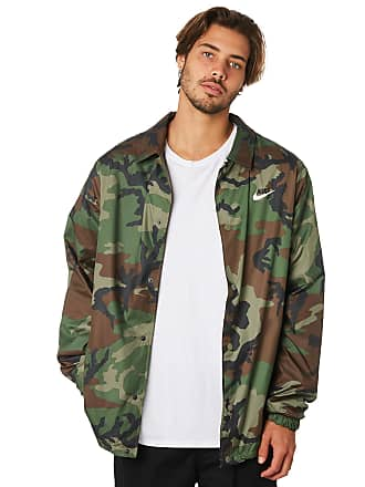 c7cff2859 Nike Sb Shield Mens Coach Jacket Olive Black