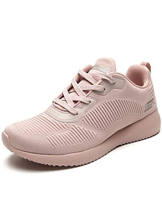 Skechers Tênis Skechers Performance Bobs Squad - Tough Tal Rosa