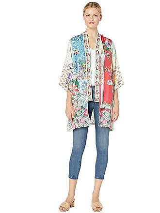 Johnny Was Kukui Kimono (Multi) Womens Clothing