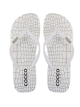 Cocco Miami Chinelo Do Bem Croco Branco