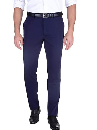 Colombo Calça Social Masculina Azul Marinho Lisa 49516 Colombo